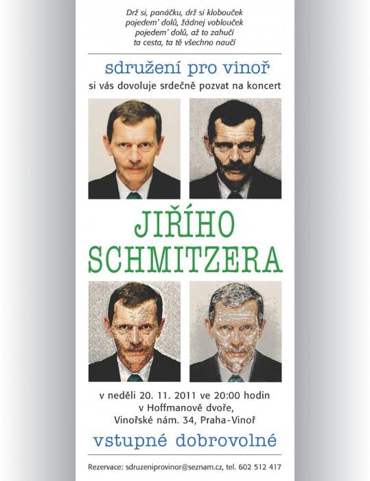 Jiří Schmitzer ve Vinoři!